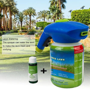 Gardening Seed Sprinkler Lawn Grass Care Liquid Spray Set - Charlie Dreams
