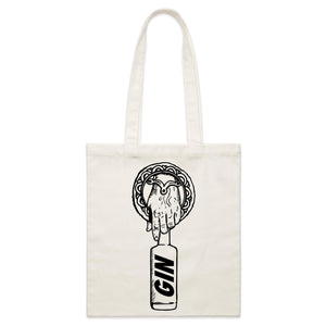 'HAND OF THE GIN' TOTE