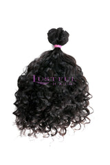 Natural Curly Wefted Hair (Per Bundle)