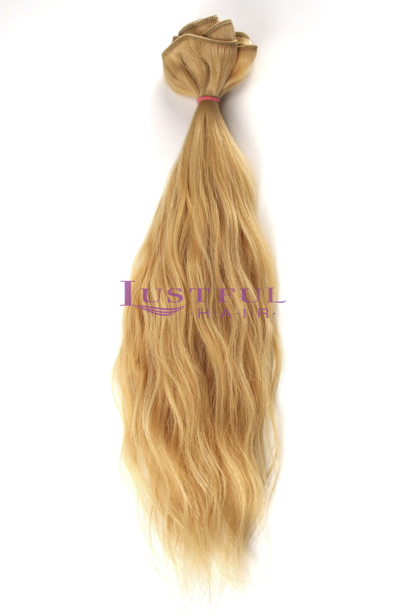 Blonde Golden - Natural Straight (Per Bundle)