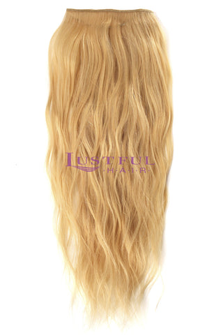 Golden Blonde Natural Straight Wefted Hair (Per Bundle)