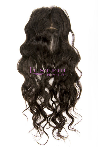 Silk Top Closure - Natural Straight