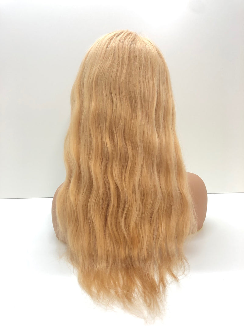 "Full Lace Glueless Wig - 16"" Blissfully Blonde"
