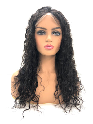 "Full Lace Wig - 18"" Curly"