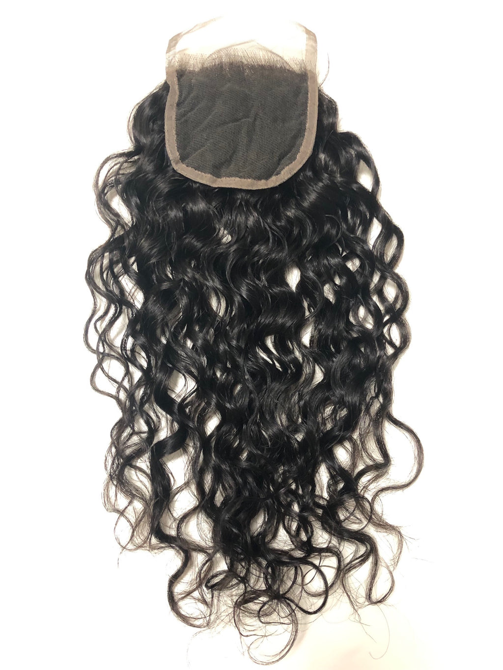 Lace Closure - Natural Curly