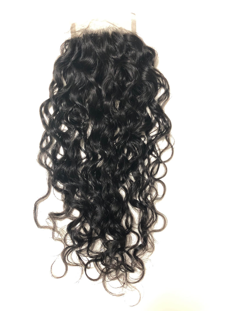 Silk Top Closure - Natural Curly