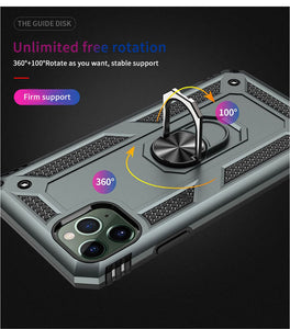 2020 iphone ultra-thin anti-drop bracket magnetic mobile phone case
