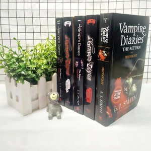 The Vampire Diaries:The Struggle 1-7 Full Set of 5 English Versions