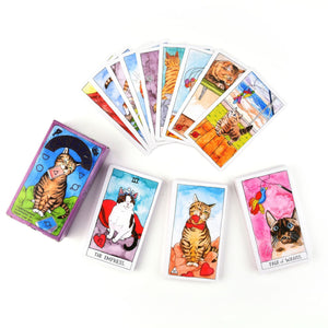 English Tarot Divination Board Game Cards