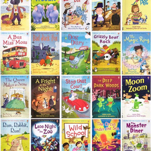 Usborne My First Reading Library 50 Books Set Collection - Read At Home