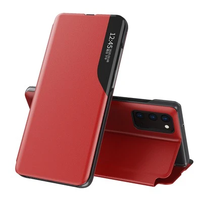Huawei Smart View Flip Case Luxury Magnetic Leather Kickstand Window Shockproof Cover