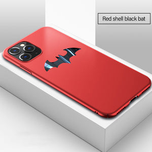 Ultra-thin Metal Bat Matte PC Magnetic Protection Phone Case For Samsung