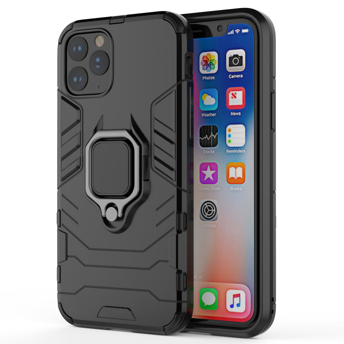 2020 Ultra-thin 4 in 1 Special Armor Case For iPhone