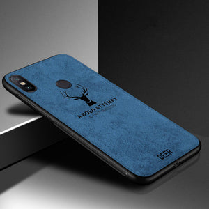 Anti Fall Deer Cloth Phone Case For Iphone
