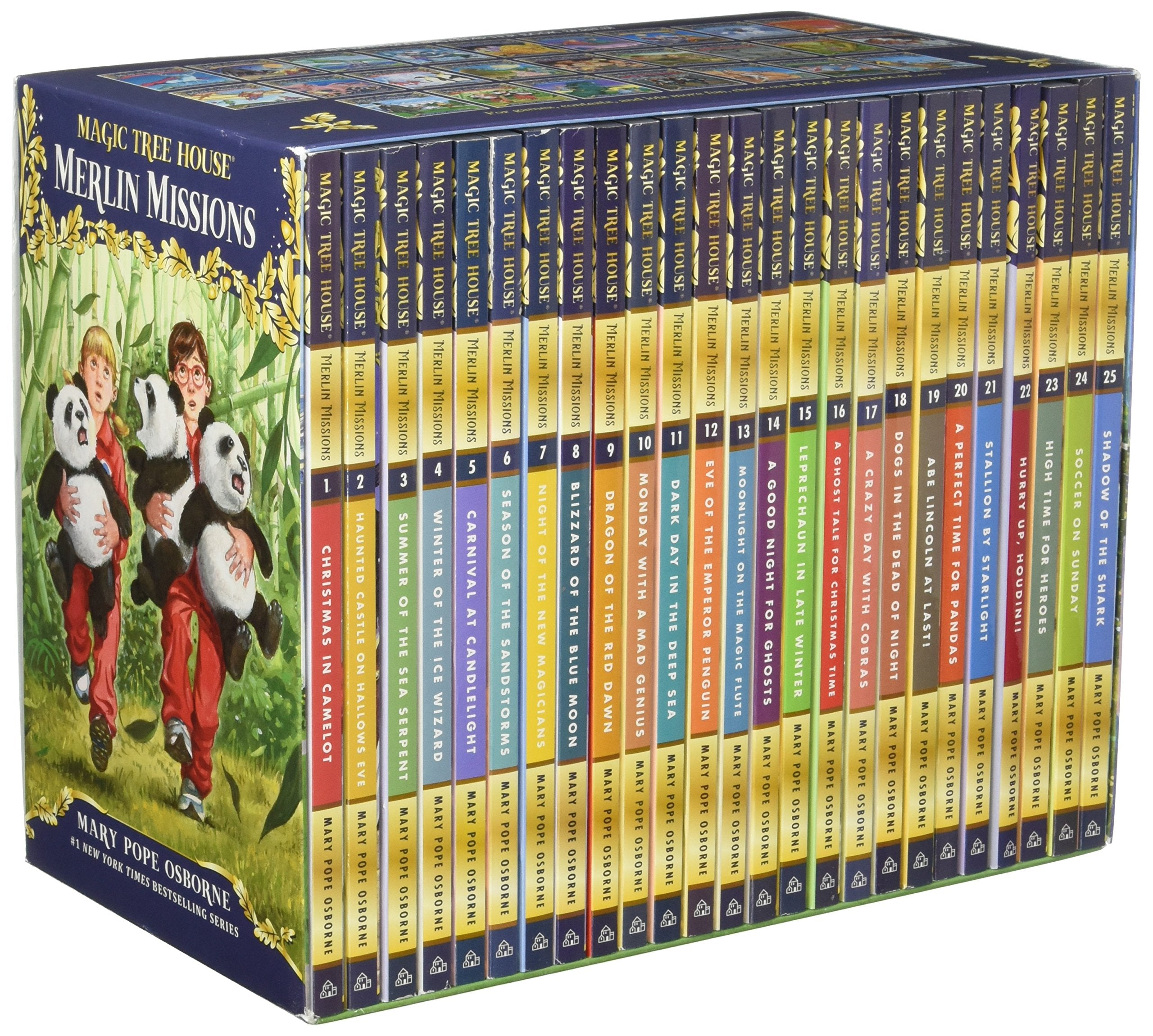 Magic Tree House Merlin Missions A Library Of Books 1-27 Boxed Set