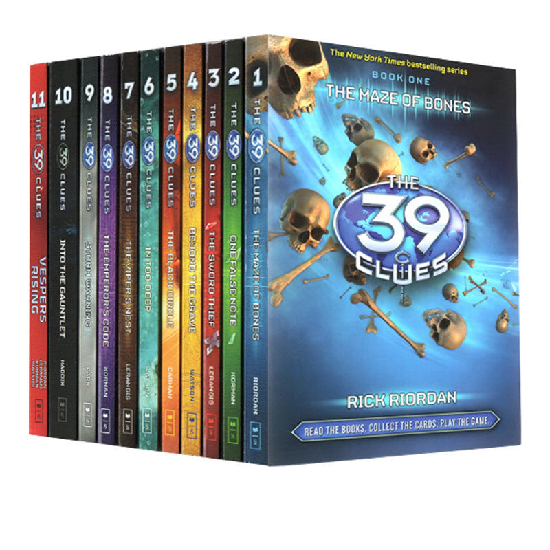 The 39 teams,Top of the New York Times bestseller list,11 Volumes.