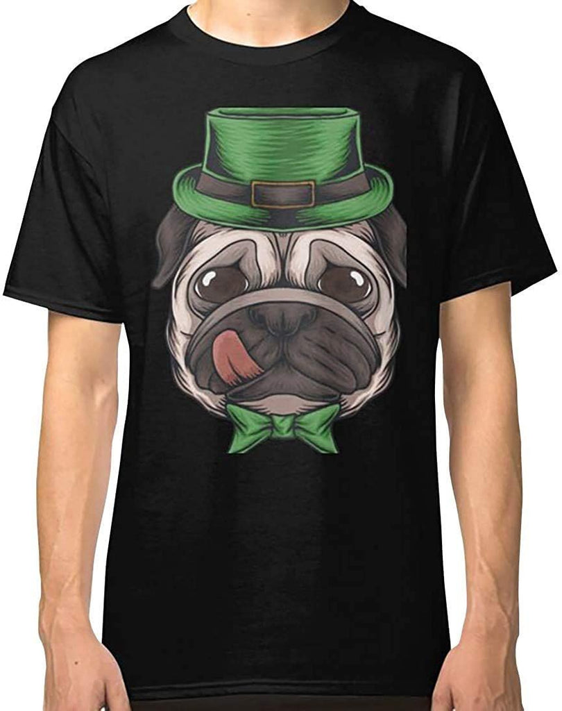 St Patrick's Day Funny Pug Dog Lovers T Shirt Classic T-Shirt, Hoodie, Sweatshirt, Gift For Men Women Love Shirt