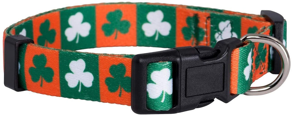 Native Pup St. Patrick's Day Dog Collars
