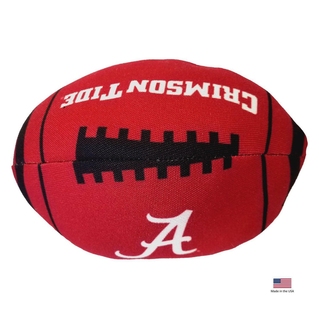 Alabama Crimson Tide Football Toss Toy - Furry Friend Frocks
