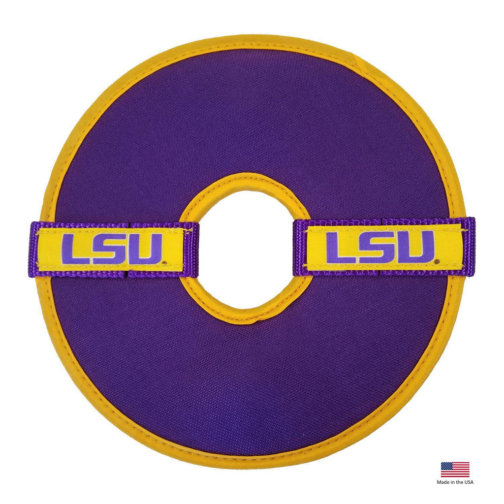 Lsu Tigers Flying Disc Toy - Furry Friend Frocks