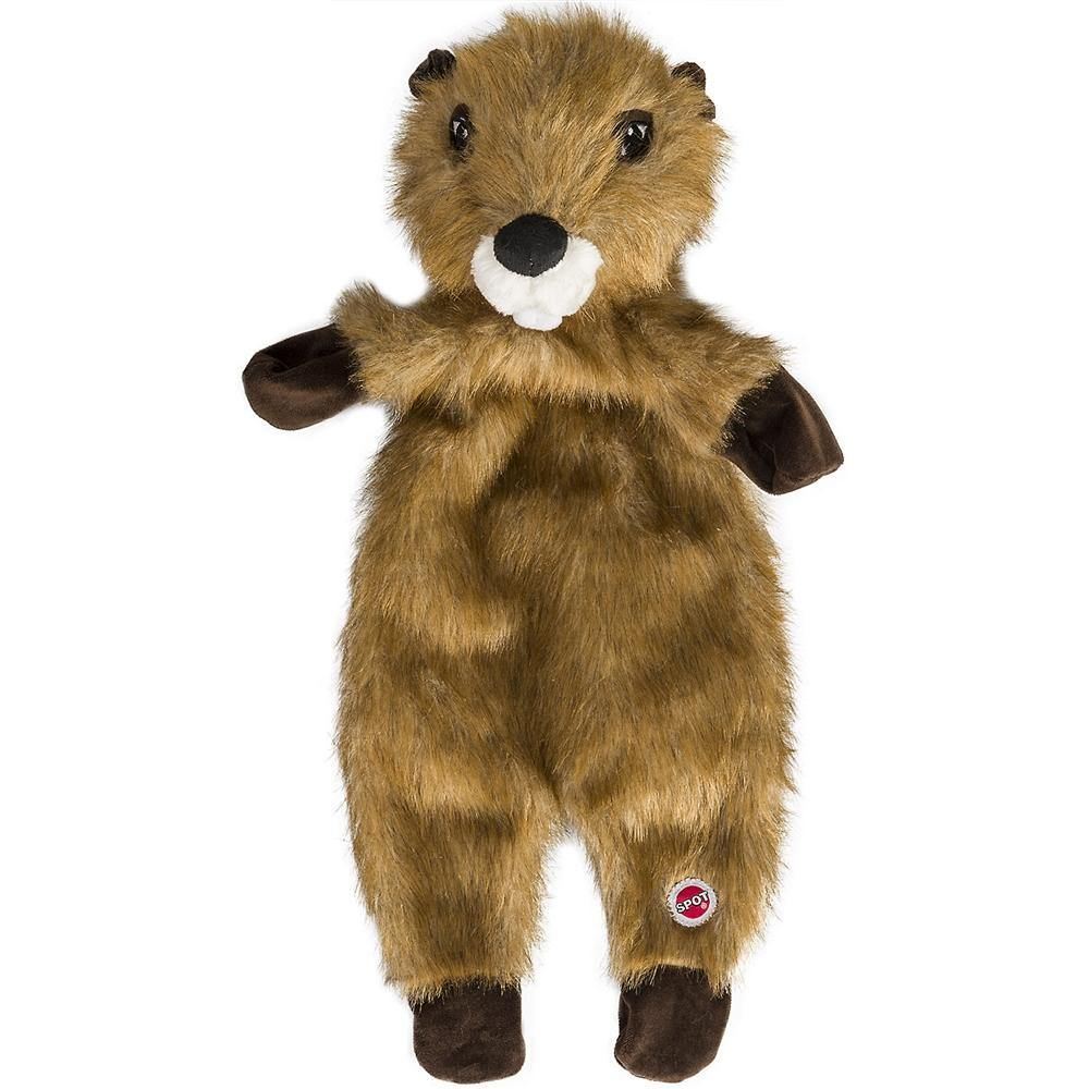 "Ethical  Pet Products Furzz Plush Beaver 13.5"" - Furry Friend Frocks"