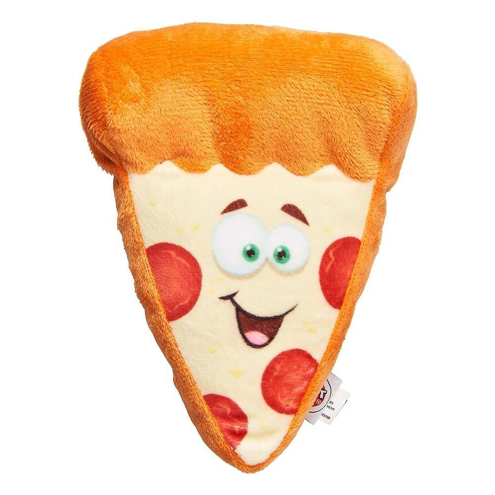Ethical Spot Fun Food Pizza Dog Toy 6.5in - Furry Friend Frocks