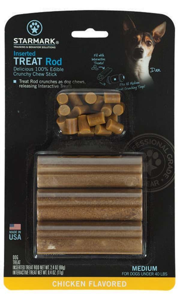 Starmark Inserted Treat Rod Chicken USA Medium - Furry Friend Frocks