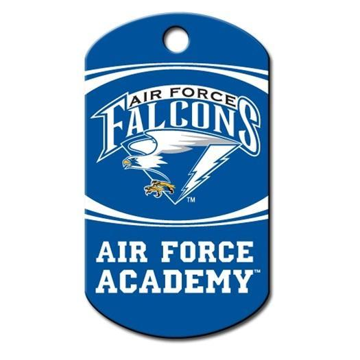 Air Force Falcons Military Id Tag - Furry Friend Frocks