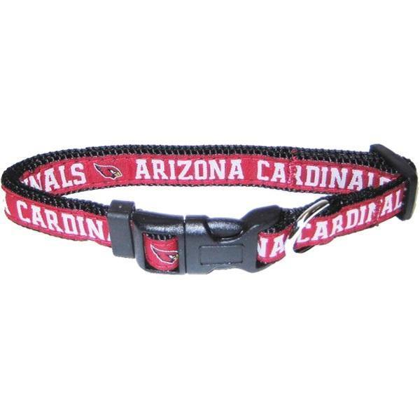Arizona Cardinals Pet Collar By Pets First - Furry Friend Frocks