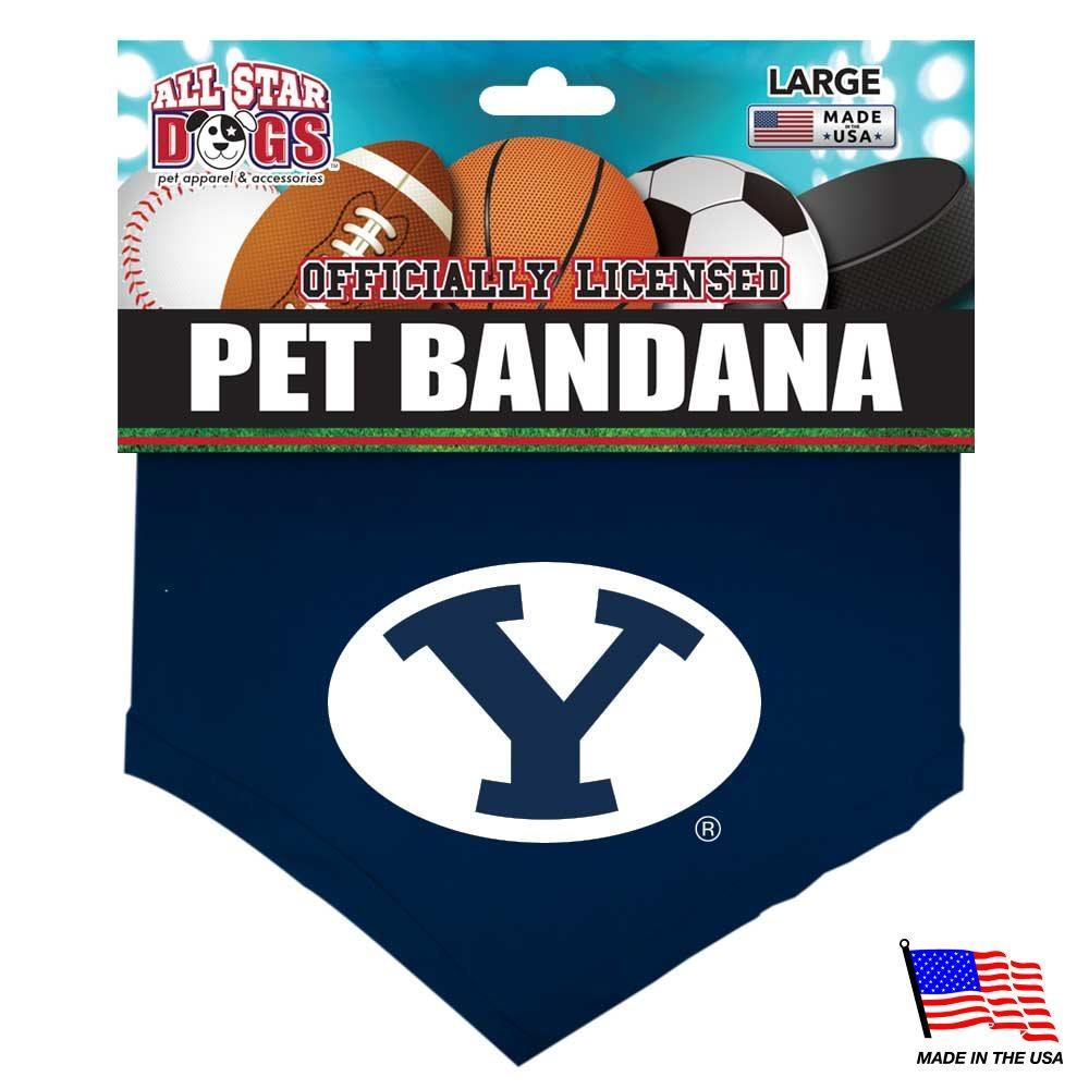 Brigham Young Cougars Pet Bandana - Furry Friend Frocks