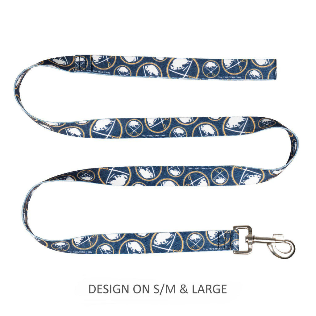 Buffalo Sabres Pet Nylon Leash - Furry Friend Frocks