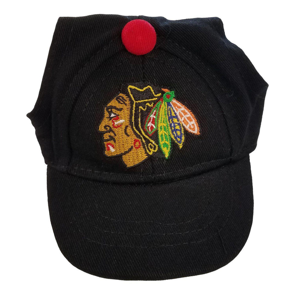 Chicago Blackhawks Pet Baseball Hat - Furry Friend Frocks