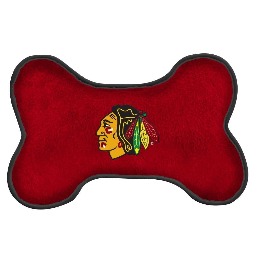 Chicago Blackhawks Squeak Toy - Furry Friend Frocks