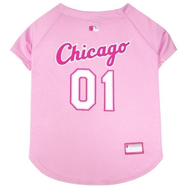 Chicago White Sox Pink Pet Jersey - Furry Friend Frocks