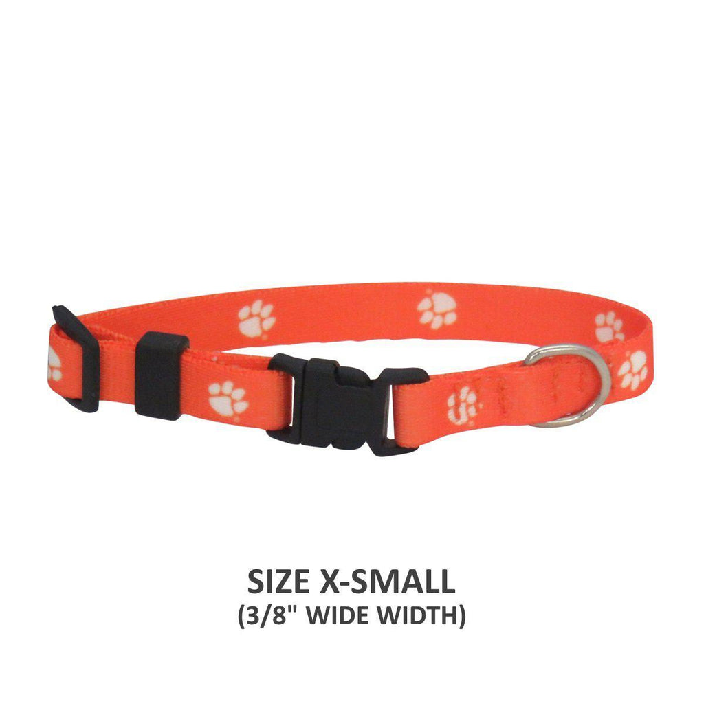 Clemson Tigers Pet Nylon Collar - Furry Friend Frocks