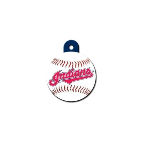 Cleveland Indians Circle Id Tag - Furry Friend Frocks