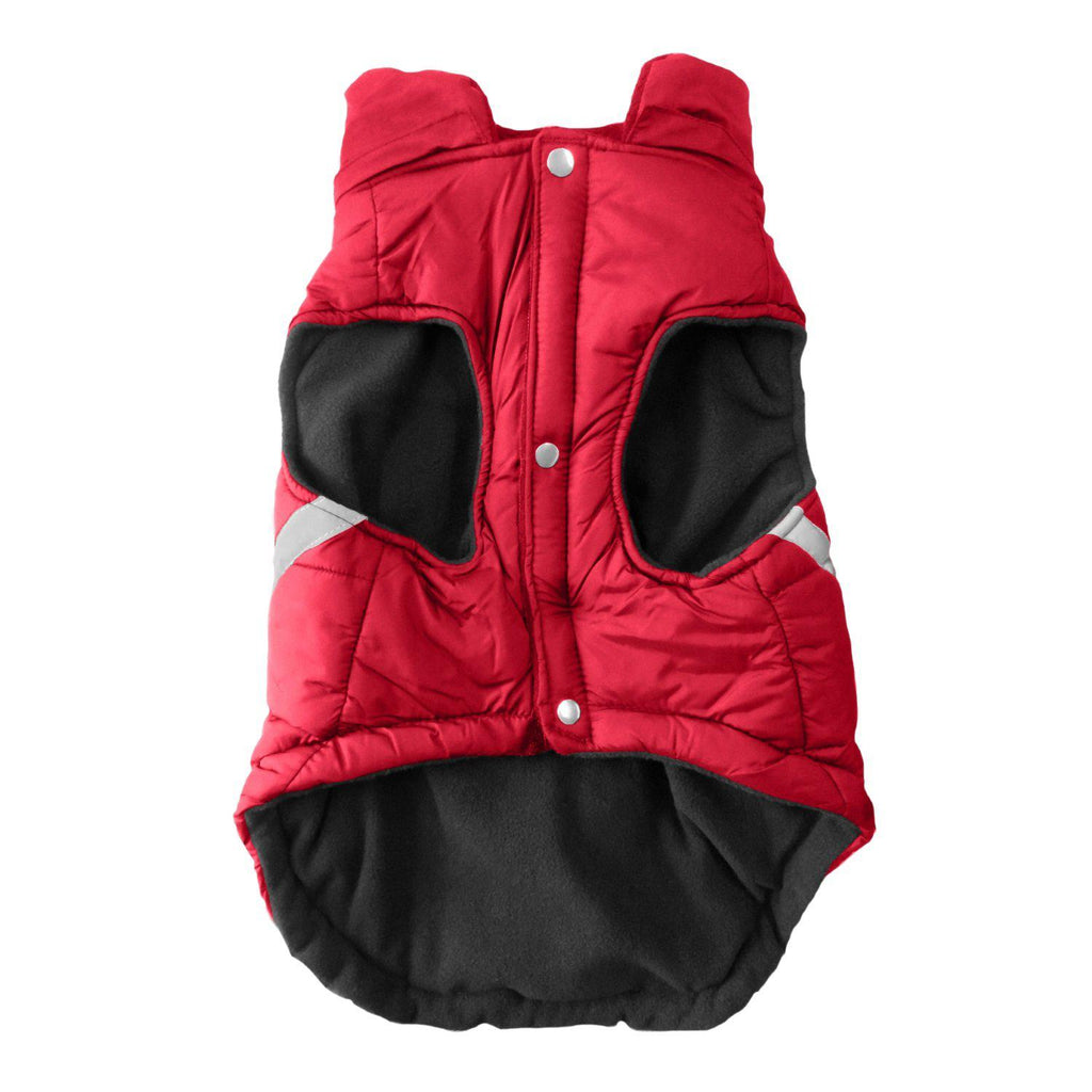 Detroit Red Wings Pet Puffer Vest - Furry Friend Frocks