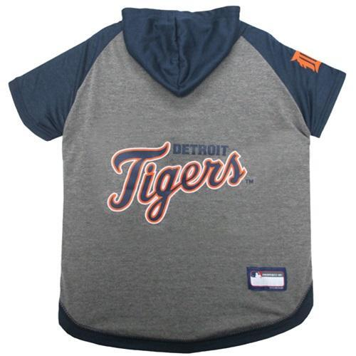 Detroit Tigers Pet Hoodie T - Furry Friend Frocks