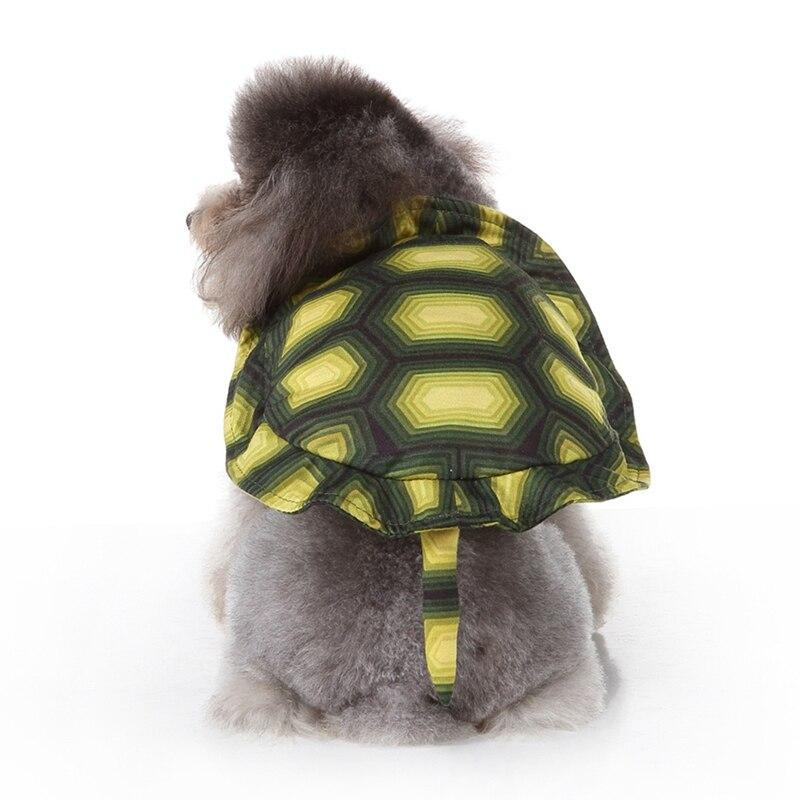 Dog Halloween Cosplay Costume, Pet Tortoise Clothes For Puppy, Funny Party Dress Up Accessories