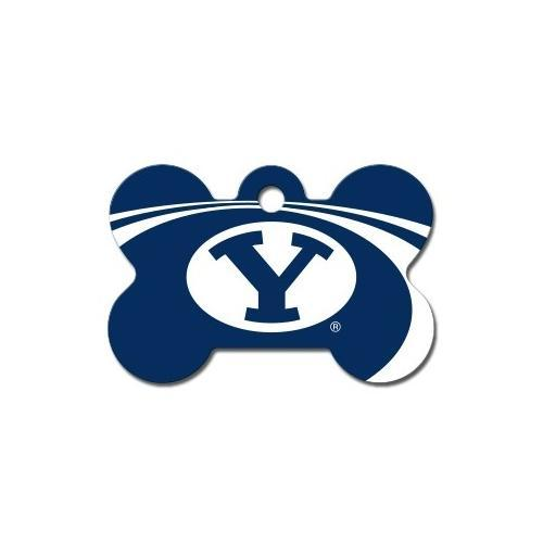 Brigham Young Cougars Bone Id Tag - Furry Friend Frocks