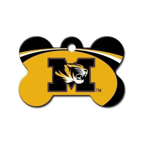 Missouri Tigers Bone Id Tag - Furry Friend Frocks