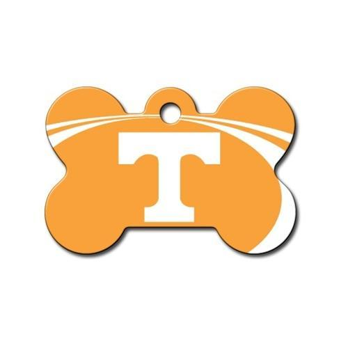 Tennessee Volunteers Bone Id Tag - Furry Friend Frocks