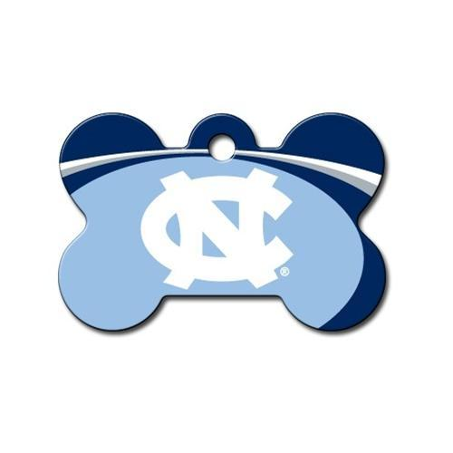 North Carolina Tarheels Bone Id Tag - Furry Friend Frocks