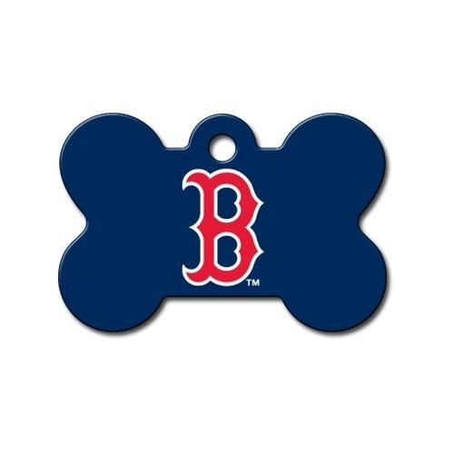 Boston Red Sox Bone Id Tag - Furry Friend Frocks