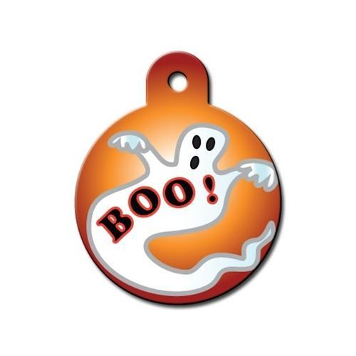 Halloween Circle Id Tag - Furry Friend Frocks