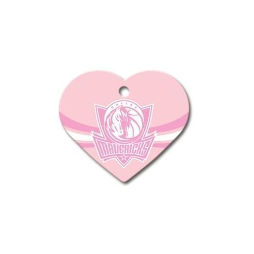 Dallas Mavericks Heart Id Tag - Furry Friend Frocks