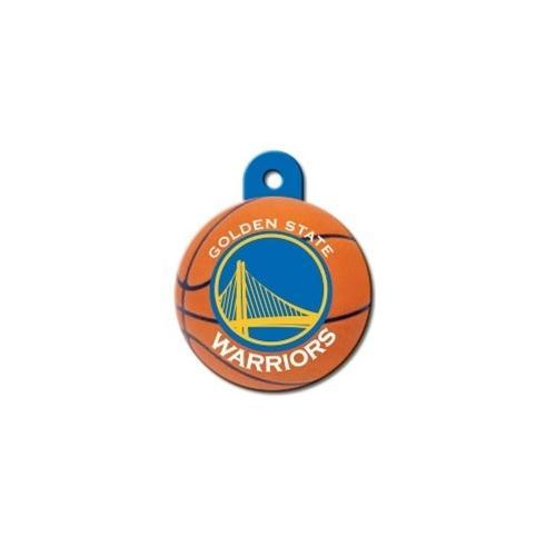 Golden State Warriors Circle Id Tag - Furry Friend Frocks