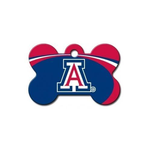 Arizona Wildcats Bone Id Tag - Furry Friend Frocks