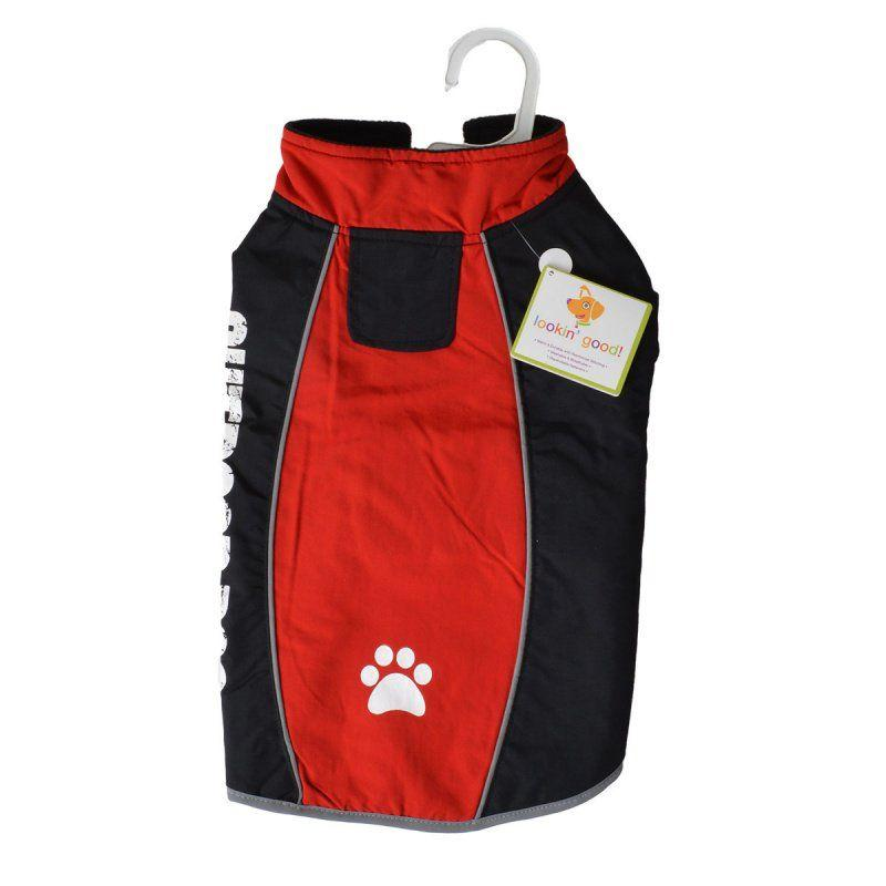 Fashion Pet Outdoor Dog All Weather Jacket - Red-Apparel Coats & Slickers-Furry Friend Frocks