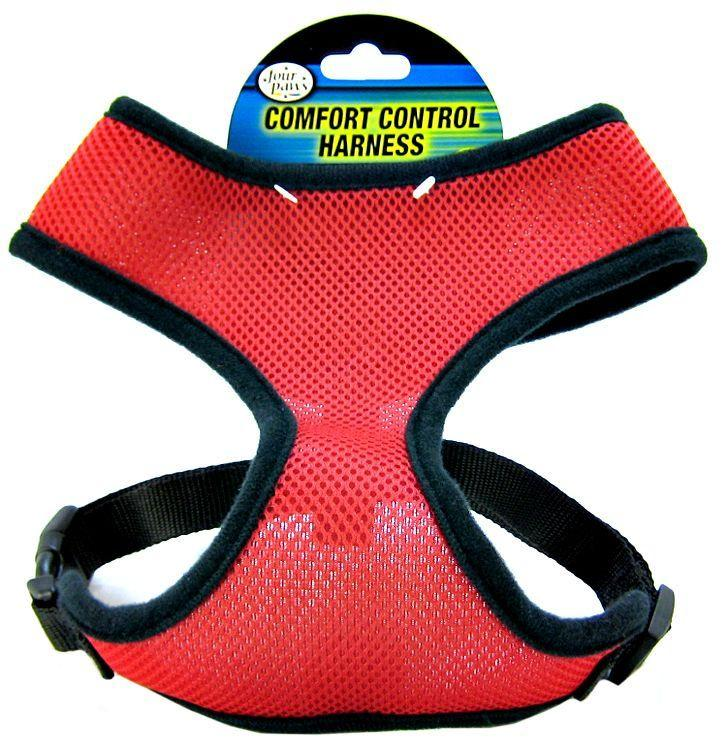 Four Paws Comfort Control Harness - Red-Harnesses Nylon Standard-Furry Friend Frocks